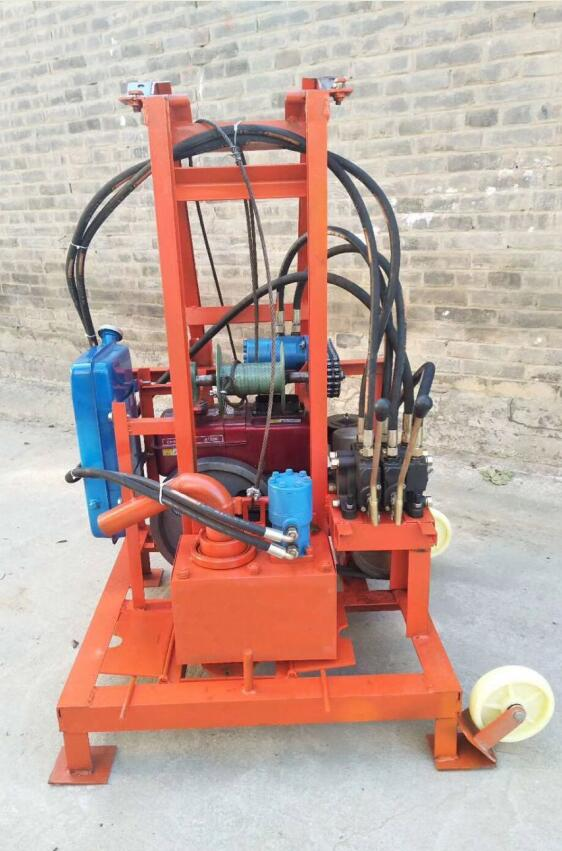 SHD260 Diesel Engine Hydraulic Drilling Rig