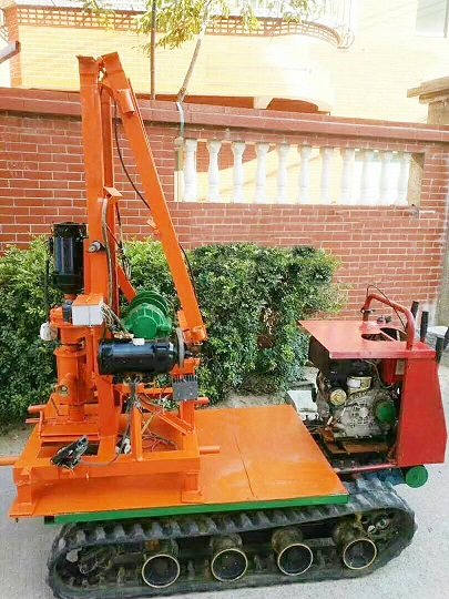Small well drill machine