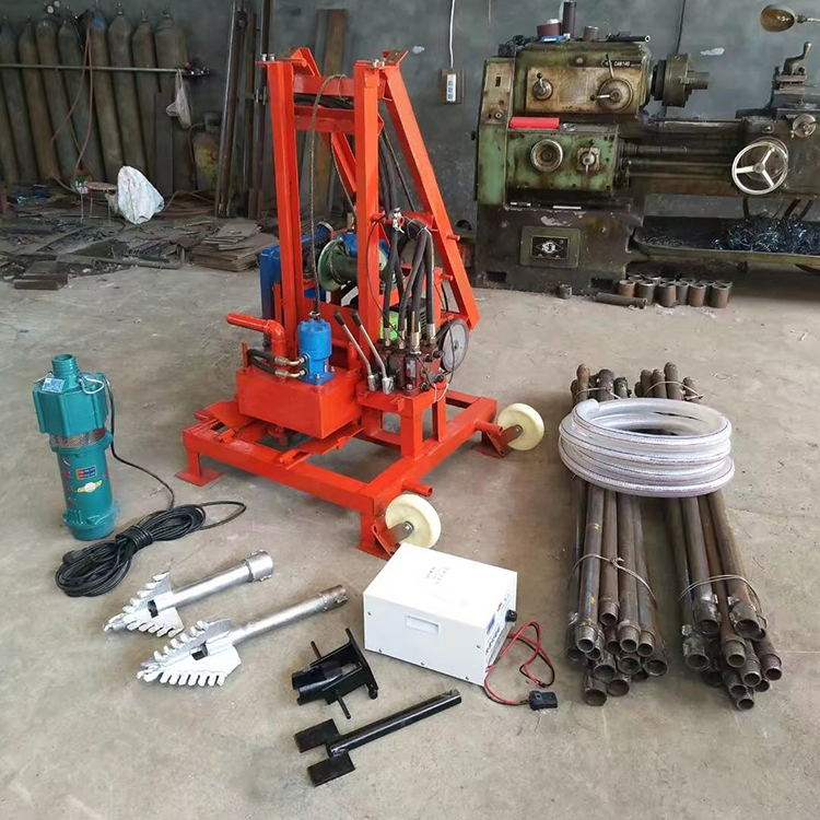 Full sets of drilling rig machine