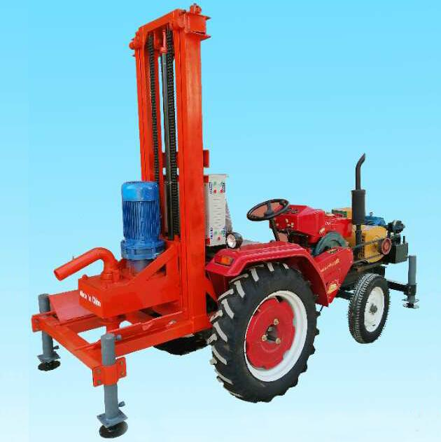 ST500D trailer mounted drilling rig