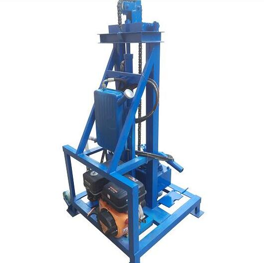 SHG260D Gasoine Engine Hydraulic Drilling Rig