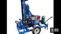 HF260D diesel engine water well drilling machine