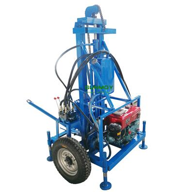 HG260D diesel engine hydraulic drilling rig