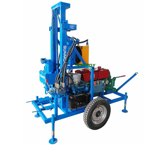 HF260D diesel engine hydraulic drilling rig